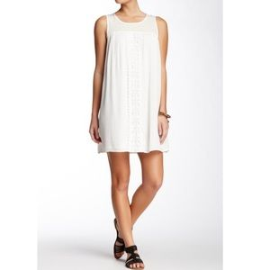 Flying Tomato | White Boho Shift Dress